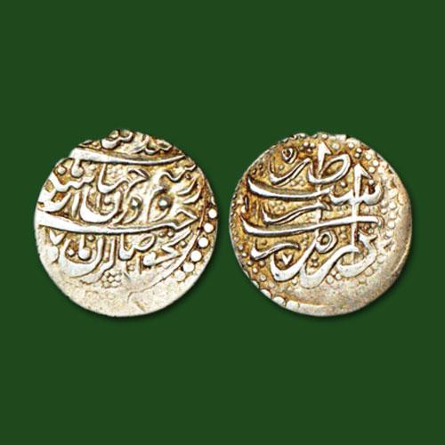 Silver-Abbasi-coin-of-Karim-Khan-Zand