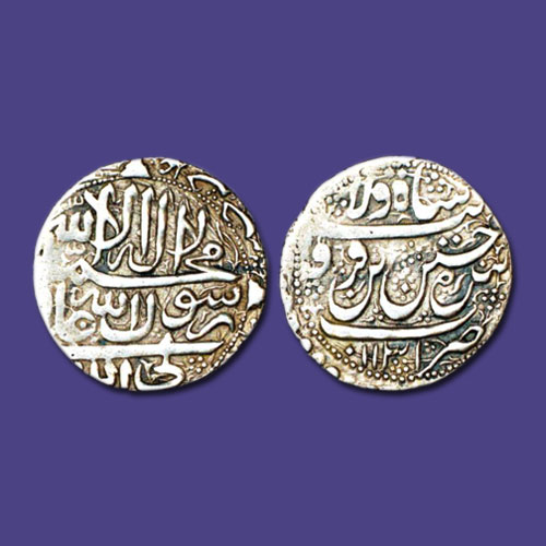 Silver-Abbasi-coin-of-Sultan-Husain