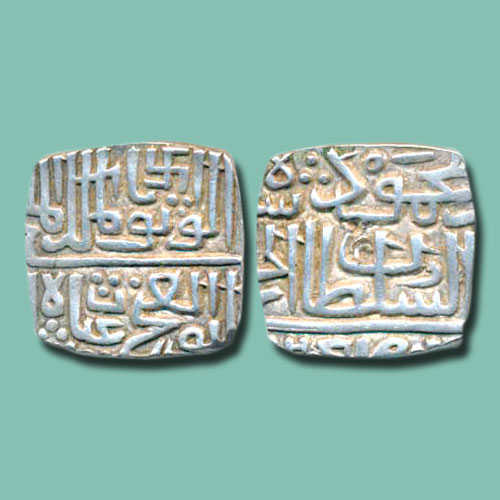 Silver-Coins-of-Ghiyath-Shah-of-Malwa-Sultanate