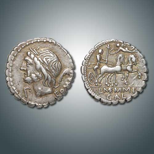 Silver-Denarius-of-Roman-Republic-Depicts-Cupid
