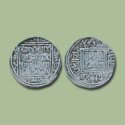 Silver-Dirham-of-Taj-al-Din-Yildiz-of-Baldat-Ghazna-mint