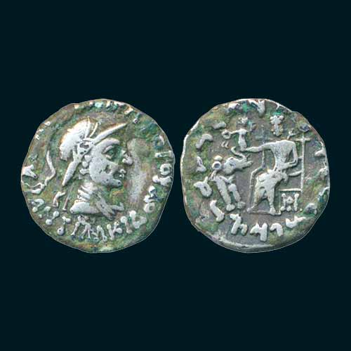 Silver-Drachm-of-Indo-Greek-Ruler-Antialcidas-
