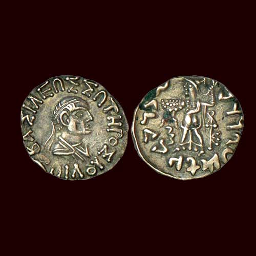 Silver-Drachm-of-Indo-Greek-Ruler-Zoilos-II