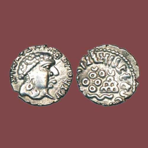 Silver-Drachm-of-Satavahana-Emperor