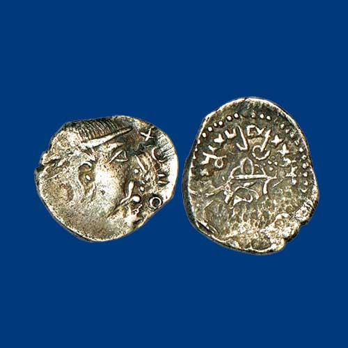 Silver-Drachm-of-Trikutakas-Listed-For-INR-40,000