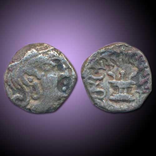 Silver-Drachma-of-Gupta-Emperor-Skandagupta