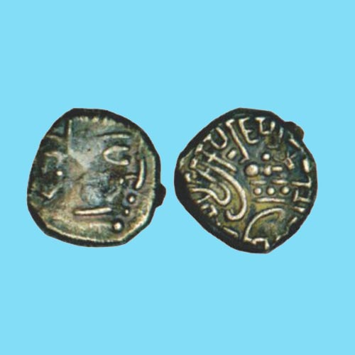 Silver-Drachma-of-Krishnaraja-of-Kalachuris-of-Mahishmati