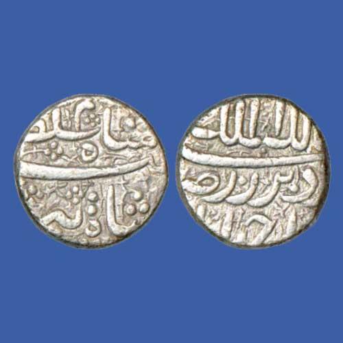 Silver-half-Rupee-of-Jahangir