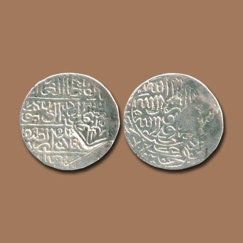 Silver-Half-Shahi-of-Ismail-I