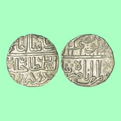 Silver-Nazarana-Tanka-of-Nasir-Shah-Listed-For-INR-1,75,000