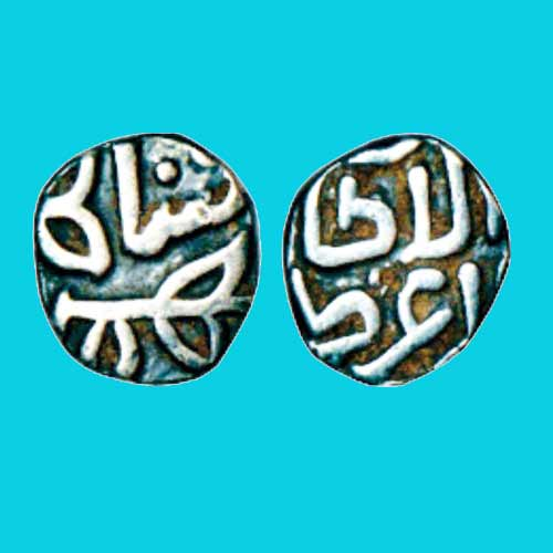 Silver-One-Twelfth-of-Tanka-of-Ala-Al-Din-Bahman-Shah