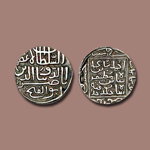 Silver-Pedigree-Tanka-of-Ahmad-Shah-I