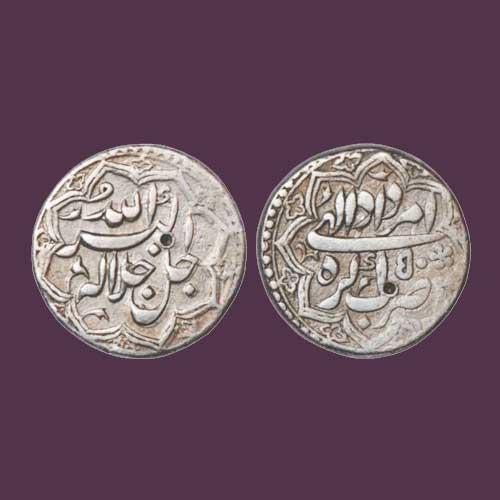 Silver-Rupee-of-Akbar-Badshah