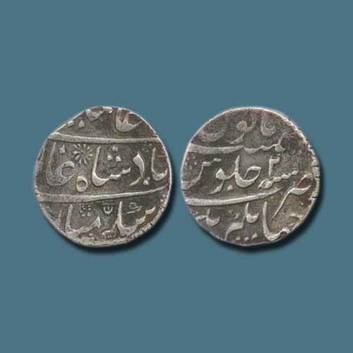 Silver-Rupee-of-Alivardi-Khan
