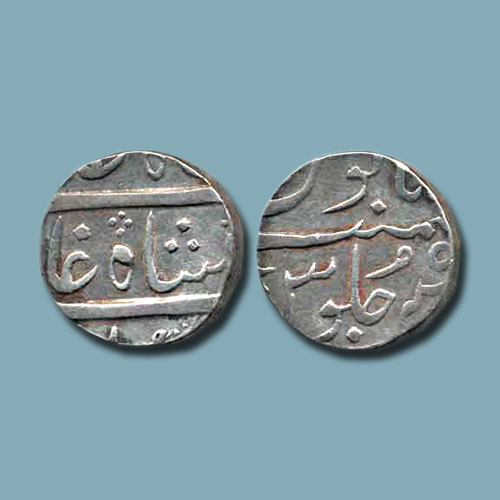 Silver-Rupee-of-Broach-Princely-State