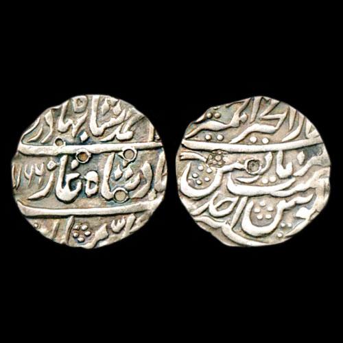 Silver-Rupee-of-Dar-ul-Khair-Ajmer-mint