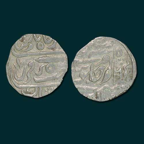 Silver-Rupee-of-Daulat-Rao-Sindhia