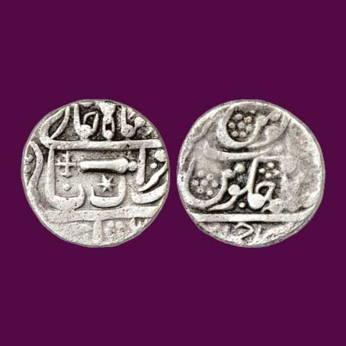 Silver-Rupee-of-Gwalior-Princely-State