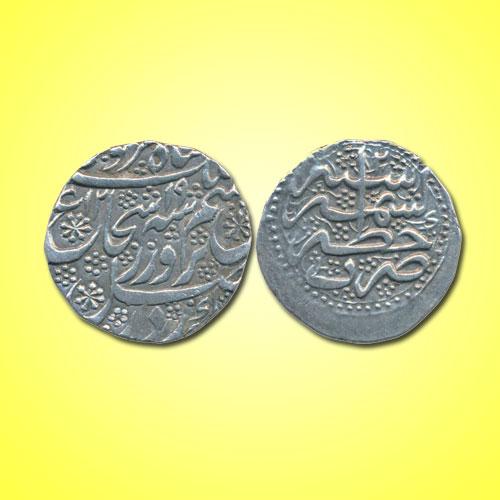 Silver-Rupee-of-Independent-kingdom-Durrani