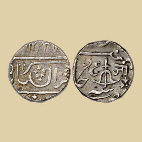 Silver-Rupee-of-Jayaji-Rao-Sindhia