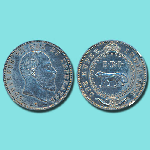 Silver-Rupee-of-King-Edward-VII-sold-for-INR-5,00,000