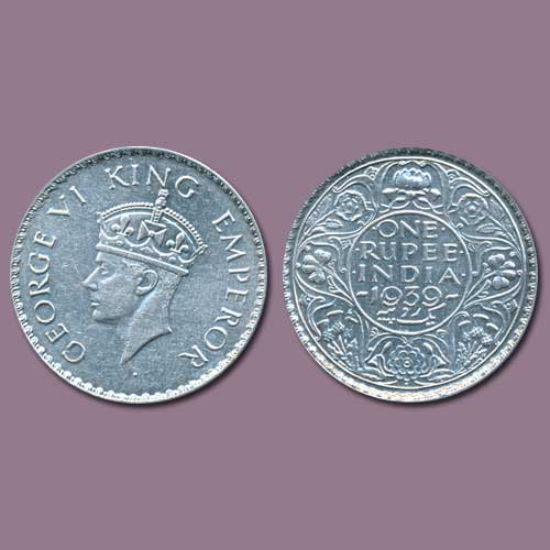 Silver-Rupee-of-King-George-Vi-went-for-INR-3,-21,000