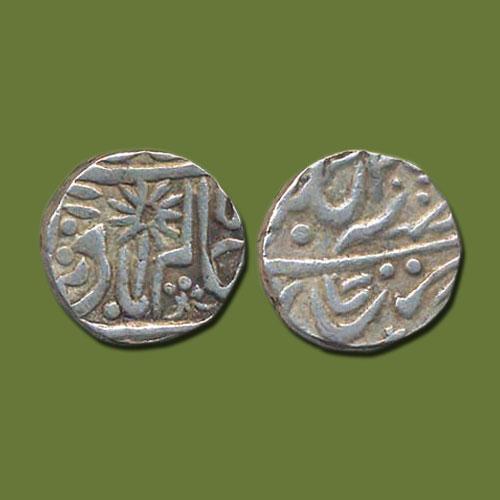 Silver-Rupee-of-Lakshman-Singh-of-Bijawar-State