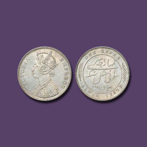 Silver-Rupee-of-Mangal-Singh