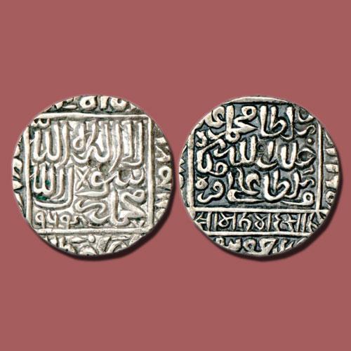 Silver-Rupee-of-Muhammad-Adil-Shah