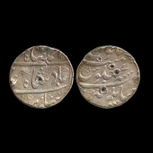 Silver-rupee-of-Murshid-Quli-Khan
