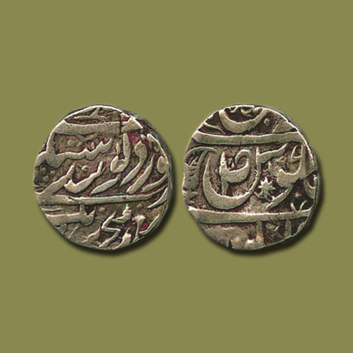 Silver-Rupee-of-Nabha-Princely-State