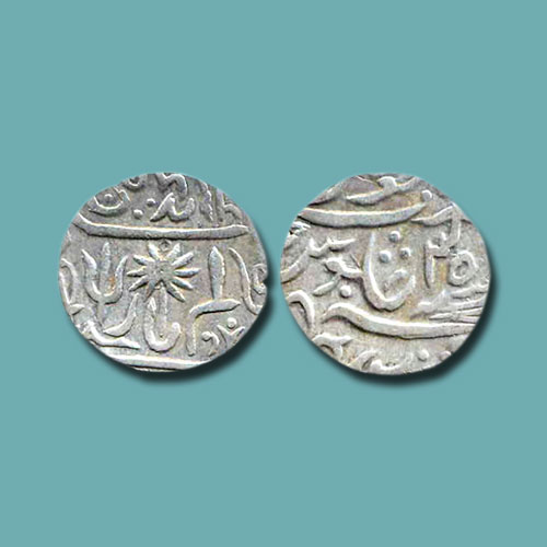 Silver-Rupee-of-Panna-Princely-State
