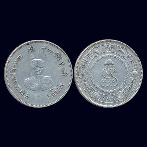 Silver-Rupee-of-Princely-State-Bikaner-King-Ganga-Singh