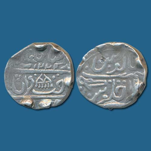 Silver-Rupee-of-Princely-State-Dholpur