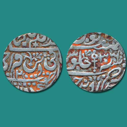 Silver-Rupee-of-Princely-State-Orchha