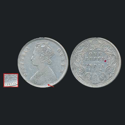 Silver-Rupee-of-Queen-Victoria