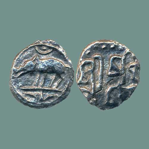 Silver-Rupee-of-Rashtrakuta-