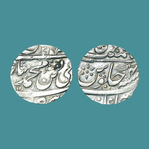 Silver-Rupee-of-Shujaalpur-Mint