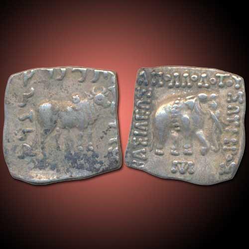 Silver-Square-Drachma-of-Indo-Greek-ruler-Apollodotus-I