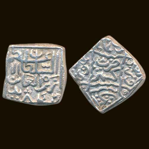 Silver-Square-Sansu-of-Kashmir-Sultanate-Zain-Al-Abidin