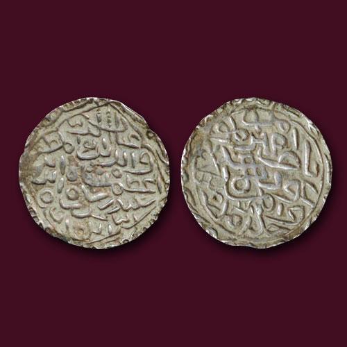 Silver-Tanka-of-Ghiyat-al-Din-Azam