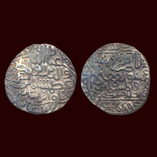 Silver-Tanka-of-Ghiyath-Al-Din-Azam-Shah