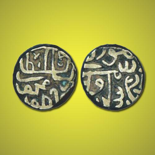 Silver-Tanka-of-Gujarat-Sultan-Shams-Al-Din-Muzaffar-Shah-III