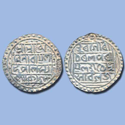Silver-Tanka-of-Kachar