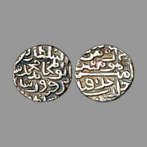 Silver-Tanka-of-Khizr-Khan