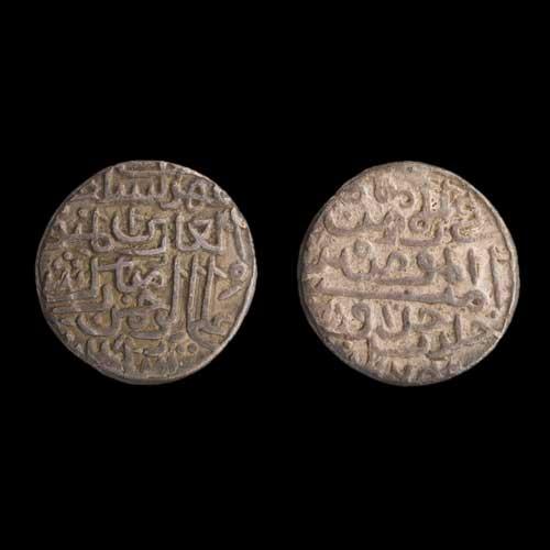 Silver-Tanka-of-Mubarak-Shah