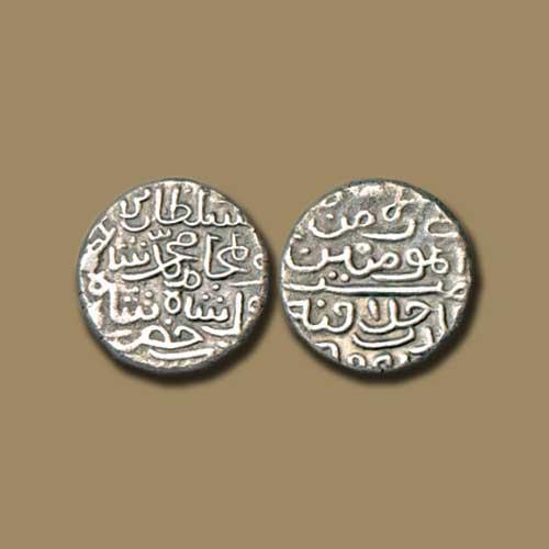 Silver-Tanka-of-Muhammad-Bin-Farid