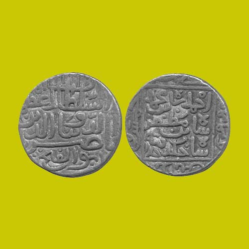 Silver-Tanka-of-Nasir-Al-Din-Ahmad-Shah-I-of-Gujarat-Sultanate