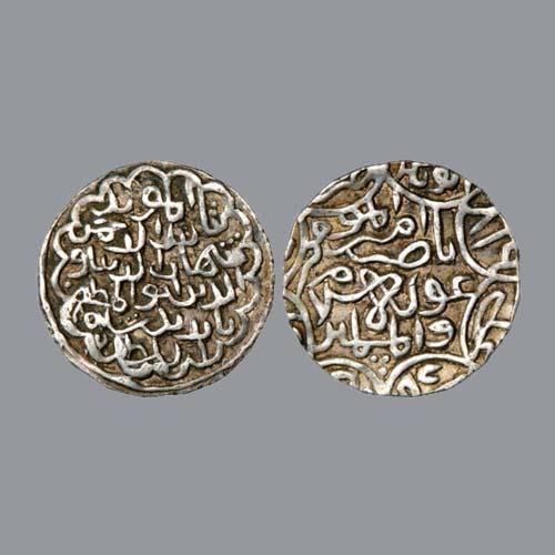 Silver-Tanka-of-Shihab-Al-Din-Bayazid-Shah