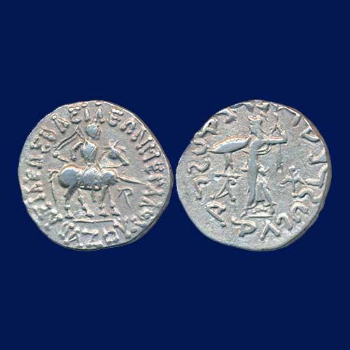 Silver-Tetradrachm-of-Indo-Scythians-ruler-Azes-I